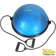 Palla BALL Per PILATES Ginnastica Equilibrio Bosu Allenamento YOGA Fitness BLU