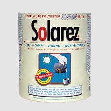 Solarez Uv Cure Clear Casting Resin Gallon ~ for Diy Jewelry, Hobby etc.