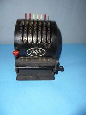 10045 Addi Rechenmaschine Antik Addiermaschine  .D.R.P. funktioniert