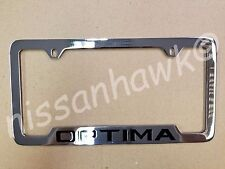OEM KIA OPTIMA CHROME LICENSE PLATE FRAME