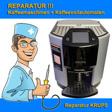 Reparatur Kaffeemaschine KRUPS EA9000, EA9010