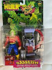 Incredible Hulk: Doc Samson with Omega Blaster 1997 TOY BIZ NIP as seen on KIDS