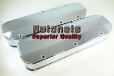 Chrome Fabricated Aluminum BB Chevy Valve Cover Big block 427454502 Tall No Hole