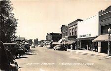 MN - 1950 REAL PHOTO Tenth Street at Worthington, Minnesota - Nobles County