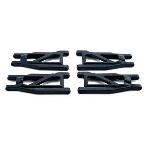 Traxxas Rustler 4X4 VXL F&R Lower Suspension Arm Set Heavy Duty 3655R