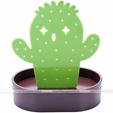 Cactus Display Stand Holder Organizer For 28 Holes Earring Jewelry Show Rack #1