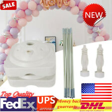 For Wedding Party Birthday Decoration Large Balloon Arch Column Stand Frame Kit