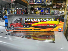 NASCAR MCDONALDS RACING TEAM TRANSPORTER TRUCK (HOT WHEELS)
