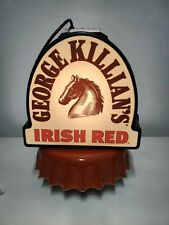 Large George Killians Irish Red Lager Plastic mold with magnetic base. (.Rare)