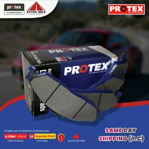 Protex Blue Brake Pad Set Rear For Ford Falcon 4.0 XR6 Turbo (BF) 245kw 2005-08