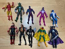 Marvel Legends Action Figure Lot Avengers Iron Man Villains Namor Fodder Custom