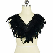 Women Feather Wing Sexy Feather Bra Top Boho Festival Alluring Harness Bra