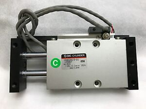 SMC CDBX2N15-01-25867 Slide Unit with D-A73 Sensor