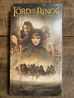 The Lord of the Rings The Fellowship of the Ring VHS 2002 - Brand New Sealed