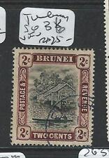 BRUNEI (PP1701B)  2C  SG 39  TEMBURONG SON CDS     VFU
