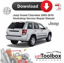 Jeep Grand Cherokee 2005-2010 Workshop Repair Manual PDF Digital DOWNLOAD