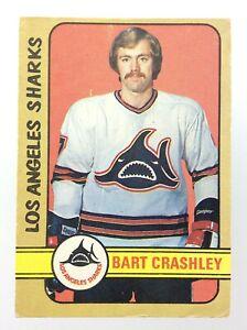 1972-73 Bart Crashley Los Angeles Sharks 295 OPC O-Pee-Chee Hockey Card S521