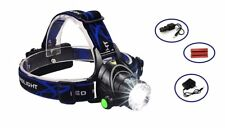 LED Rechargeable Headlight Head Lamp for Work Construction Camping Outdoor Sport