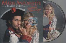 Marie Antoinette L'amour Secret CD PROMO comédie musicale barbelivien