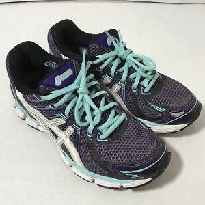 Asics GT-2000 Gel Running Shoe Women Size 8 Sneaker Purple Solyte IGS