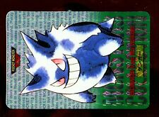 POKEMON BANDAI 1996 GREEN MONSTERS COLLECTION N°   94 GENGAR ECTOPLASMA HOLO