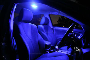 Bright Blue LED Interior Lights Upgrade Kit for Toyota Corolla AE112R 1998-2001