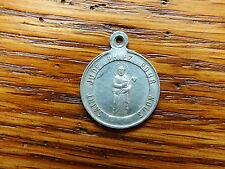 ANTIQUE aluminium RELIGIOUS MEDAL ST JUDE WITH AXE,LAWYER OF DESESPERATES CAUSES
