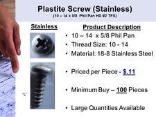 Stainless Steel Plastite Screw