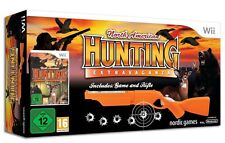 North American Hunting Extravaganza + Rifle Bundle Wii PAL *NEW* + Warranty!!!