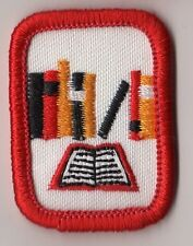 Girl Scouts Cadette Senior IPP Interest Project Badge~Red~Reading