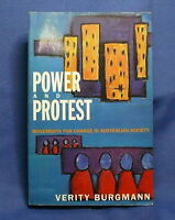Power and Protest Movements for Change in Australia
