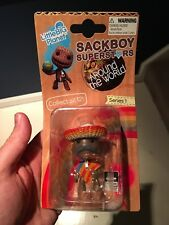 "Little Big Planet - Sackboy Superstars MEXICO Series 1 -  2"" Figure  2011 new"