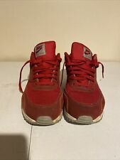 Nike Air Max 90 Essential Men's Gym Red Sneakers Shoes Size 14 537384-604