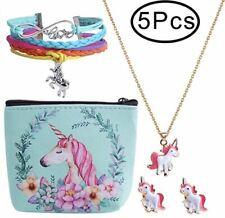1- Unicorn Necklace Jewelry For Girls Children Kids Valentines Day Birthday Gift