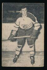 1952-53 St Lawrence Sales (QSHL) #43 JOE CROZIER (Quebec) -Maple Leafs