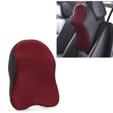 Head Neck Rest Support Cushion Car Seat Travel Headrest Pad Memory Foam Pillow