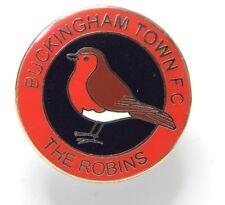 Buckingham Town Football Club Enamel Badge - Non League Football Clubs -