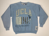Vintage UCLA Bruins Sweatshirt Size XL Light Blue Football Heritage