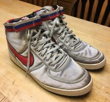 RARE Mens Nike Vandal Supreme Metallic Silver/Samba/Black Shoes 304715-061 Sz 14
