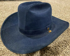 Vintage Levi's Corduroy Denim Cowboy Hat Western Size 7 1/4 Levi Strauss USA