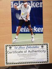Tennis Signed Photos Certified Original Sports Autographs