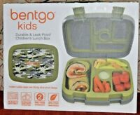 Bentgo Kids Children's Lunch Box 5 Compartments Durable Leak-Proof CAMOUFLAGE