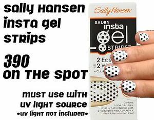 BRAND NEW Sally Hansen Salon Insta Gel Strips 390 SPOT ON *must use UV*
