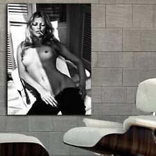 Poster Mural Kate Moss Erotic Pin Up Model 40x53 in (100x133 cm) Adhesive Vinyl