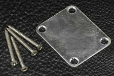 Gotoh NBS-3NBC Neck Plate with Screws - Relic Chrome Finish