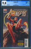 Avengers 13 (Marvel) CGC 9.8 White Pages Origin of Fan Fei Iron Fist 1,000,000BC