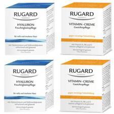 RUGARD Vitamin Creme 2x100ml und Hyaluron Feuchtigkeitspflege Creme 2x100ml