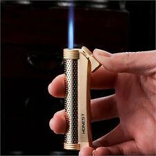 Windproof Jet Flame torch Cigarette Cigar refillable Butane Gas HONEST Lighter