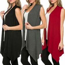 Cotton Blend Thin Knit Long Jumpers & Cardigans for Women