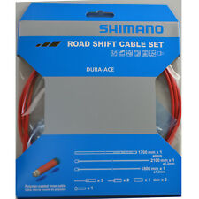 2018 Shimano Road Shift/Derailleur Cable Set Fits Dura Ace, Ultegra, 105: RED